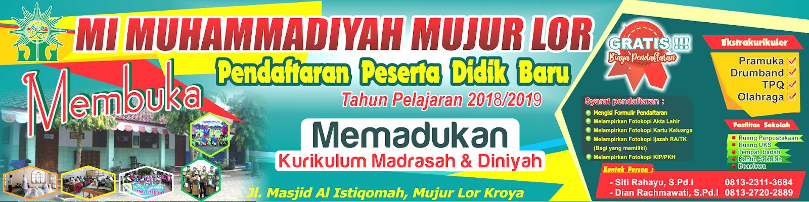 Desain Banner PPDB TK cdr