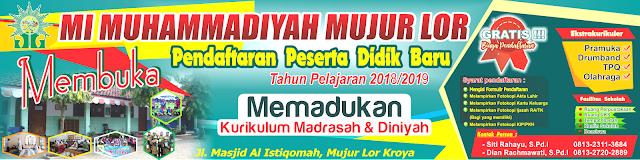 Desain Spanduk Banner PPDB Terbaru