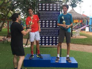 El tenista esteño Martín Antonio Vergara Del Puerto (14 años), se consagró campeón en singles en la categoría 18 años al vencer a su oponente Santino Morel por el marcador de 6-3; 1-6 y 6-3, tras dos horas y media de partido. El torneo nacional de tenis se desarrolló en las instalaciones del Club Internacional de Tenis (CIT).