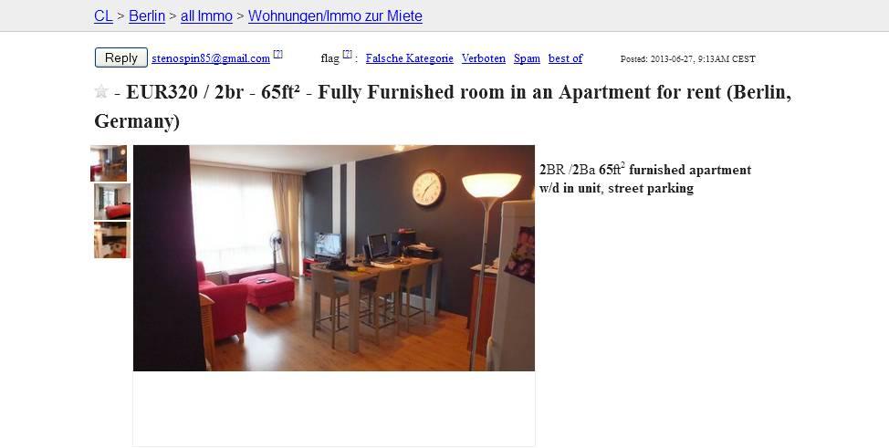 stenospin85 vorkassebetrug fraud scam. Black Bedroom Furniture Sets. Home Design Ideas