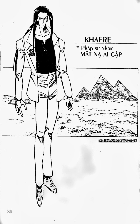 Shaman King [Vua pháp thuật] chap 121 trang 10