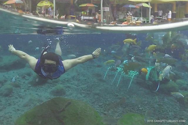 Snorkeling di Umbul Ponggok