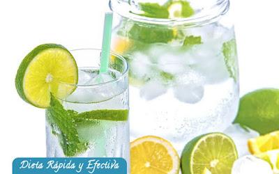 Combatir la grasa corporal con limon y vinagre de manzana