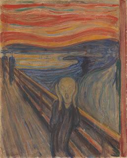 El grito de Munch en el museo nacional de Oslo