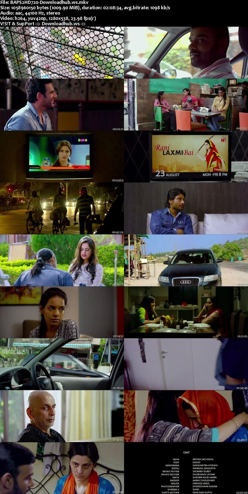 B A Pass 2 2017 Hindi 720p HDRip ESubs