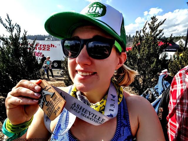 Miles & Pace Running Apparel-asheville-half-marathon
