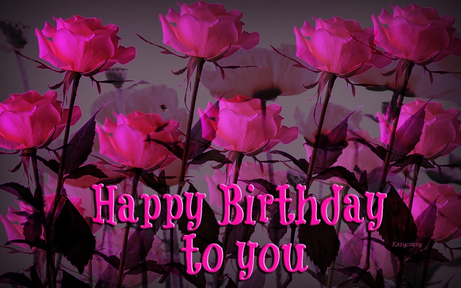Happy Birthday Flowers Pic HD