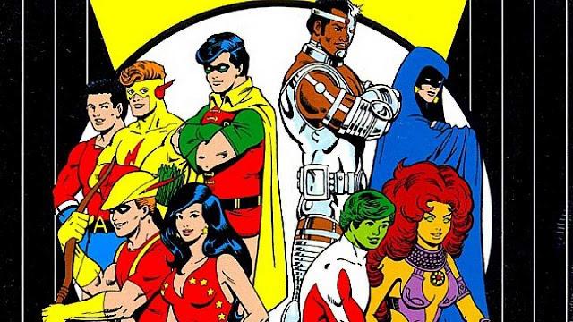 Sidekicks da DC jovens titãs original turma titã