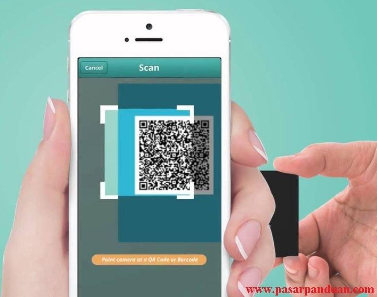 3 cara scan barcode atau kode qr