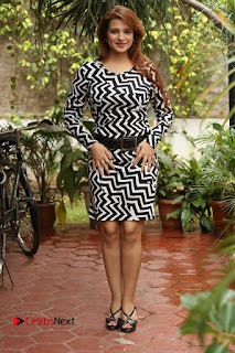 Actress Saloni Latest Pos in Short Dress  0346.JPG