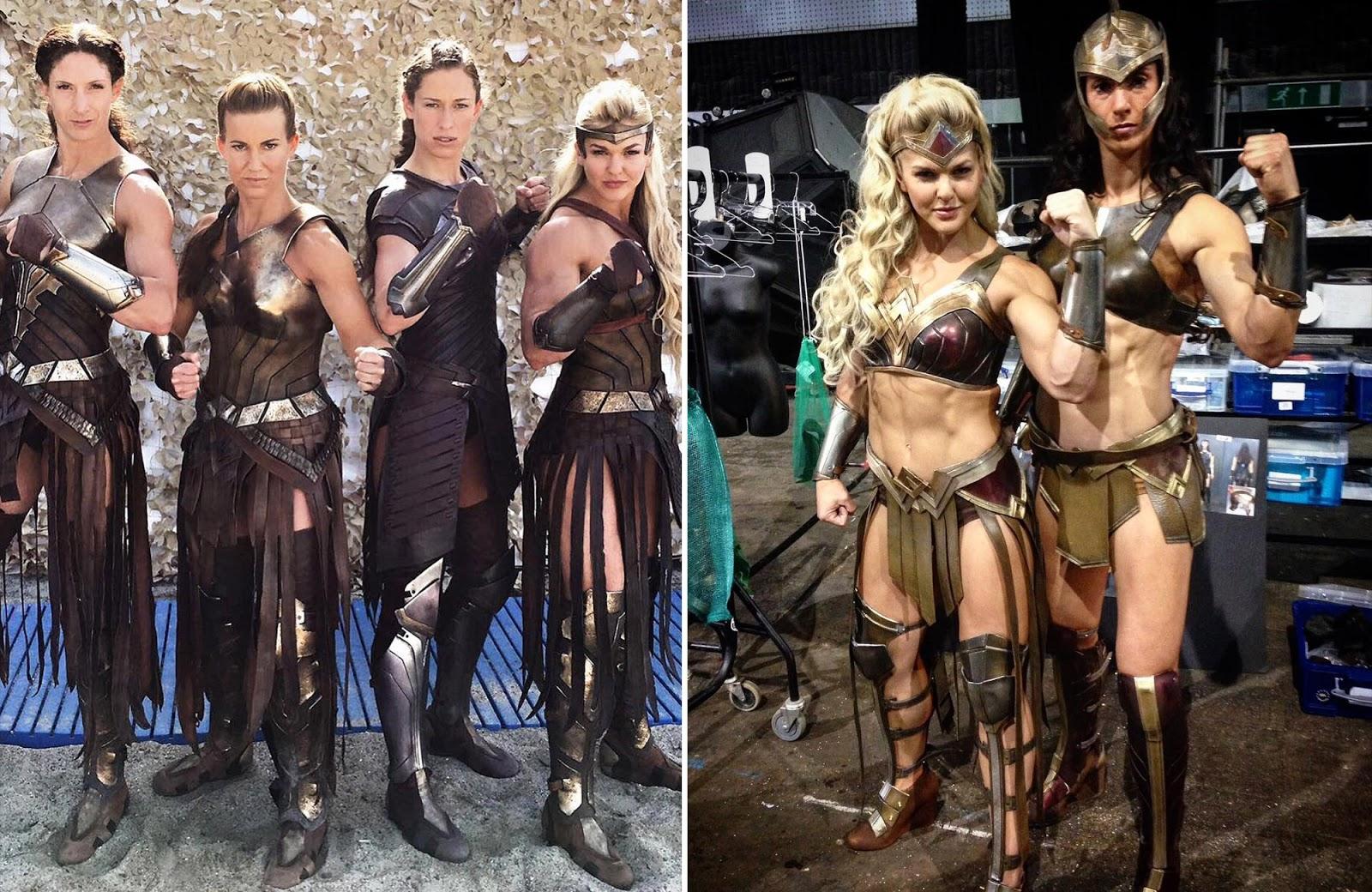 Amazon Warriors Fotos ashlyn brady author: wonder woman's amazon warriors get a