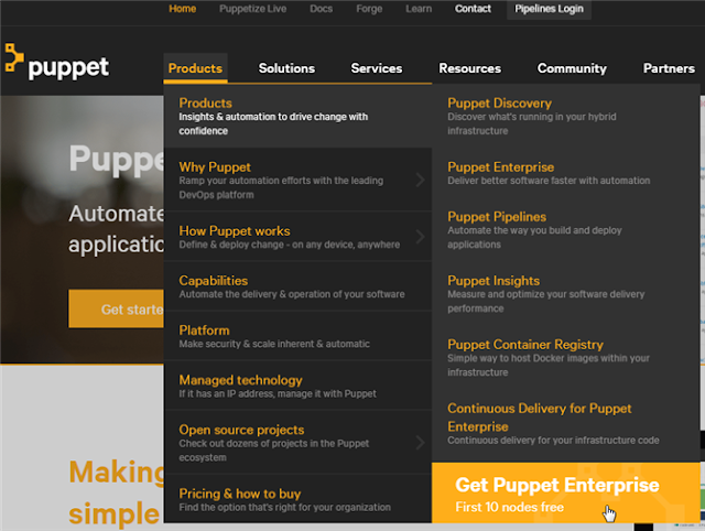 Puppet - Products