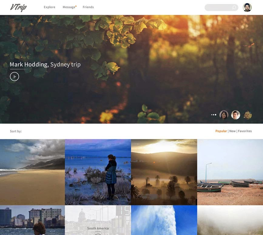 Travel Video Book – PSD Template