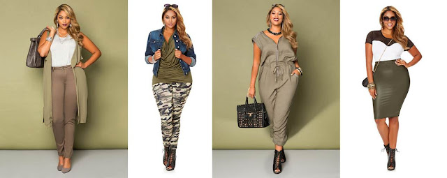 Ashley Stewart Military Pieces