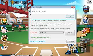 Cheat Baseball Heroes Skill Hit