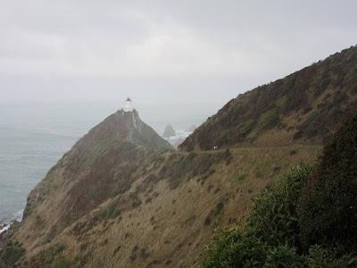 Nugget Point Lighthouse. The Catlins, en Nueva Zelanda