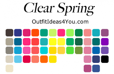 Clear Spring Palette from OutfitIdeas4You.com