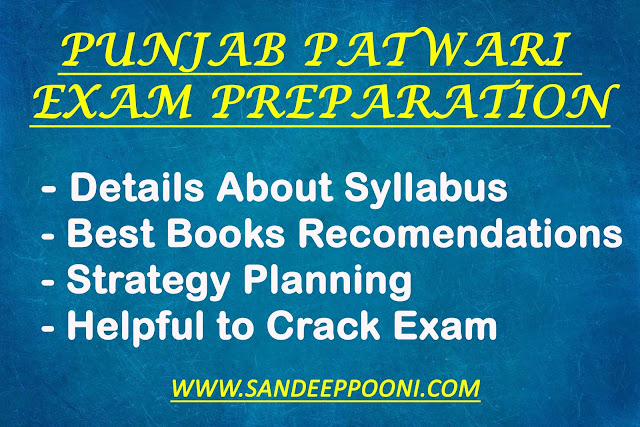 Punjab Patwari Exam Preparation