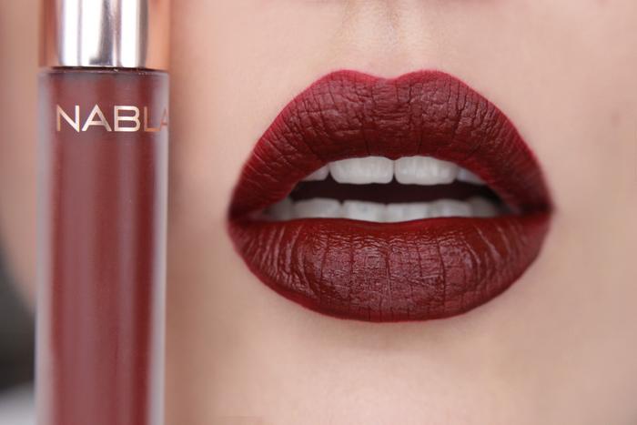 nabla matte liquid lipstick Unspoken