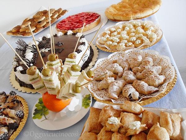 Festa _Compleanno_ con _mini _buffet_LinaOggivicucinocosì