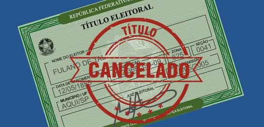 Títulos cancelados poderão ser regularizados