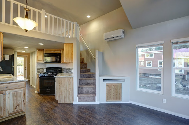 cabin style park model home