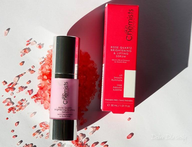 SkinChemists Rozświetlające i Wygładzające Serum z Różowym Kwarcem