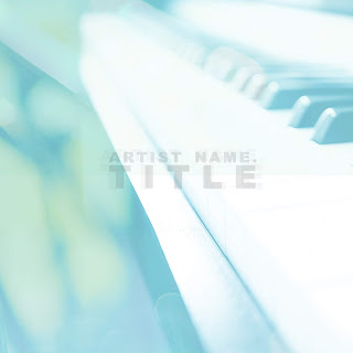 This bright colored white and blue CD cover template will make your music release look and feel more appealing. It's got a compelling and stylish 3D layout that will get fans interested in your music release whether you are distributing physical CDs online or in stores, or releasing your music digitally on Spotify, iTunes, Bandcamp, Soundcloud, CD Baby or Google Play Music. Background picture: Piano