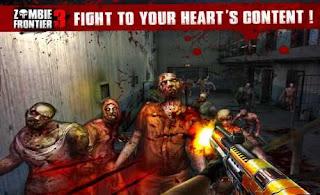 Zombie Frontier 3 MOD Dinheiro infinito apk download