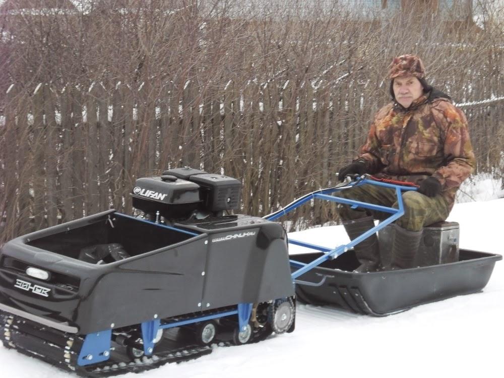 Мотобуксировщики для зимней рыбалки