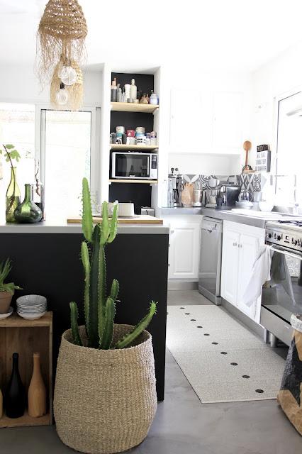 Ma cuisine avec le tapis Pappelina Regards et Maisons Le Blog