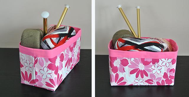 $5 DIY Organizer Basket
