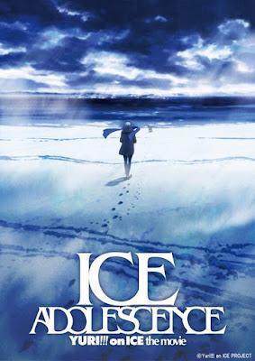 imagen promocional película anime yuri on ice ice adolescence