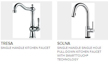 brizo kitchen faucet cabinet painting ideas faucets