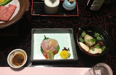 富士乃湯旅館の夕食・中盤