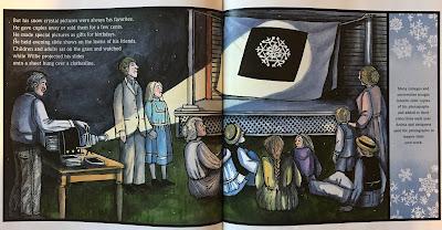 caldecott book analysis snowflake bentley illustration