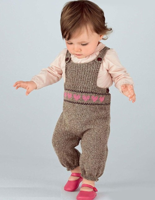 Baby Dungarees - Free Pattern