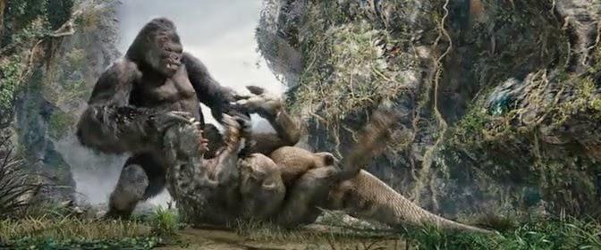 Skull Island Teaser Reveals King Kong Remake At Comic Con