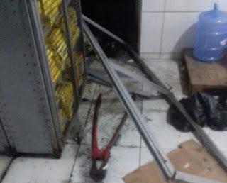 Em Campina Grande, bandidos explodem caixa eletrônico na Alpargatas