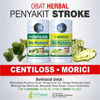 obat stroke denature