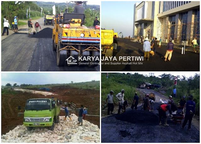 Jasa Pengaspalan Jalan, Kontraktor Pengaspalan Jalan di Jakarta Bogor Depok Tangerang Bekasi