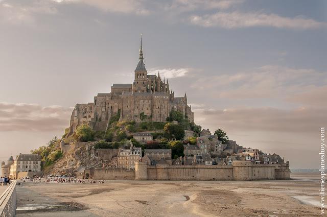 Viajar a Bretaña y Normandia Mont Saint-Michel