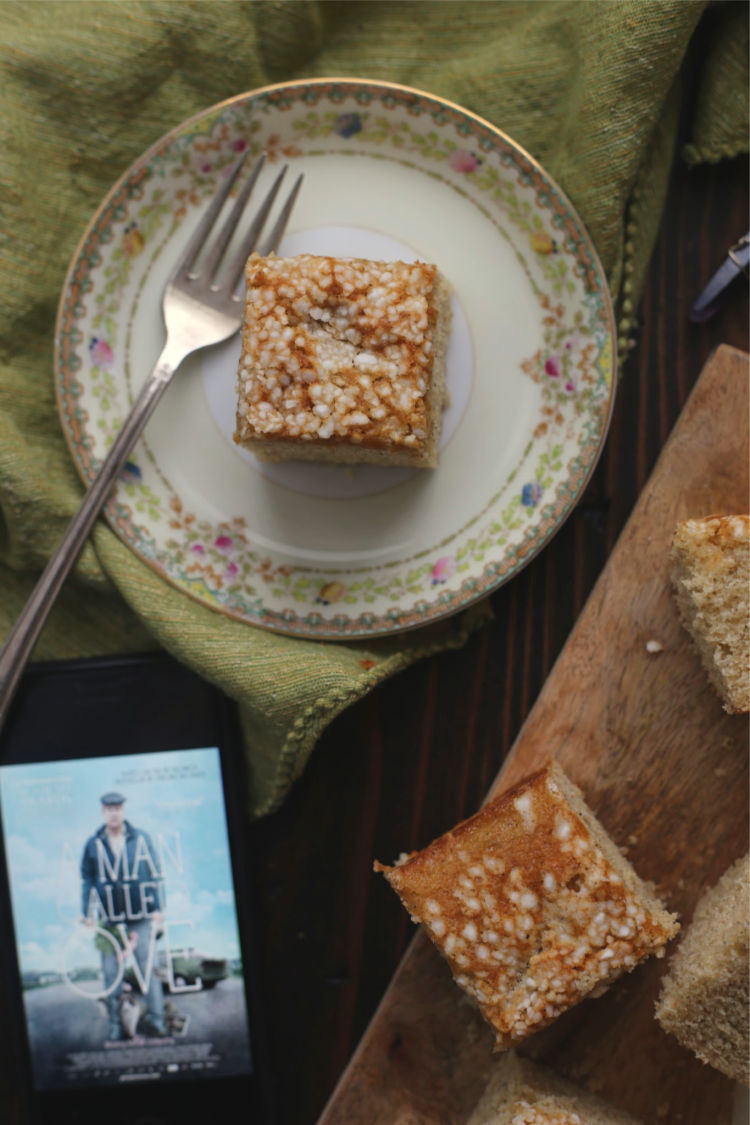 Swedish Cardamom Cake | A Man Called Ove | #FoodnFlix