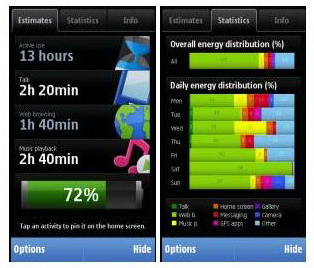 Nokia Battery Monitor available for download on Ovi Store