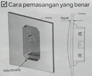 Cara pemasangan Box MCB yang benar