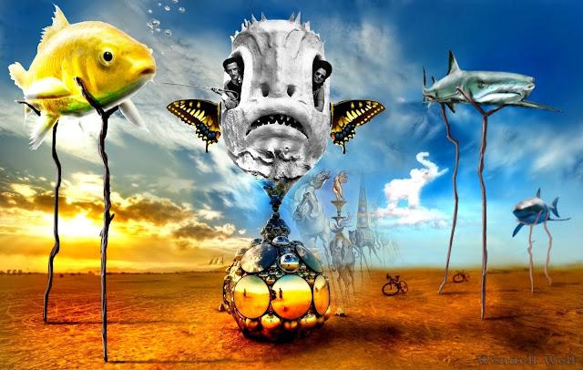 Resultado de imagem para imagens surrealistas