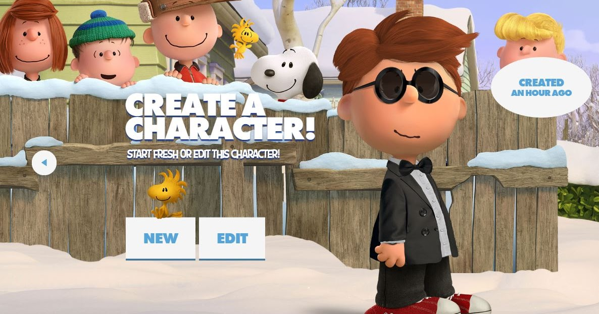 Kb Konnected Clips Create Your Own Peanuts Character