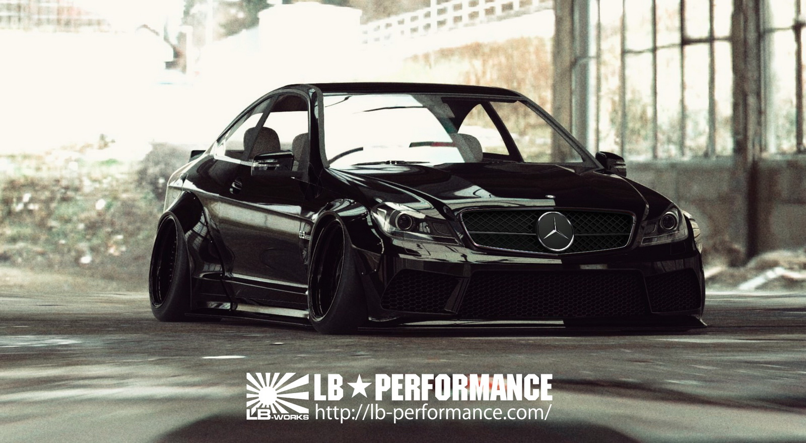 Liberty Walk Preview Their Widebody Kit For Merc C63 Amg Coupe
