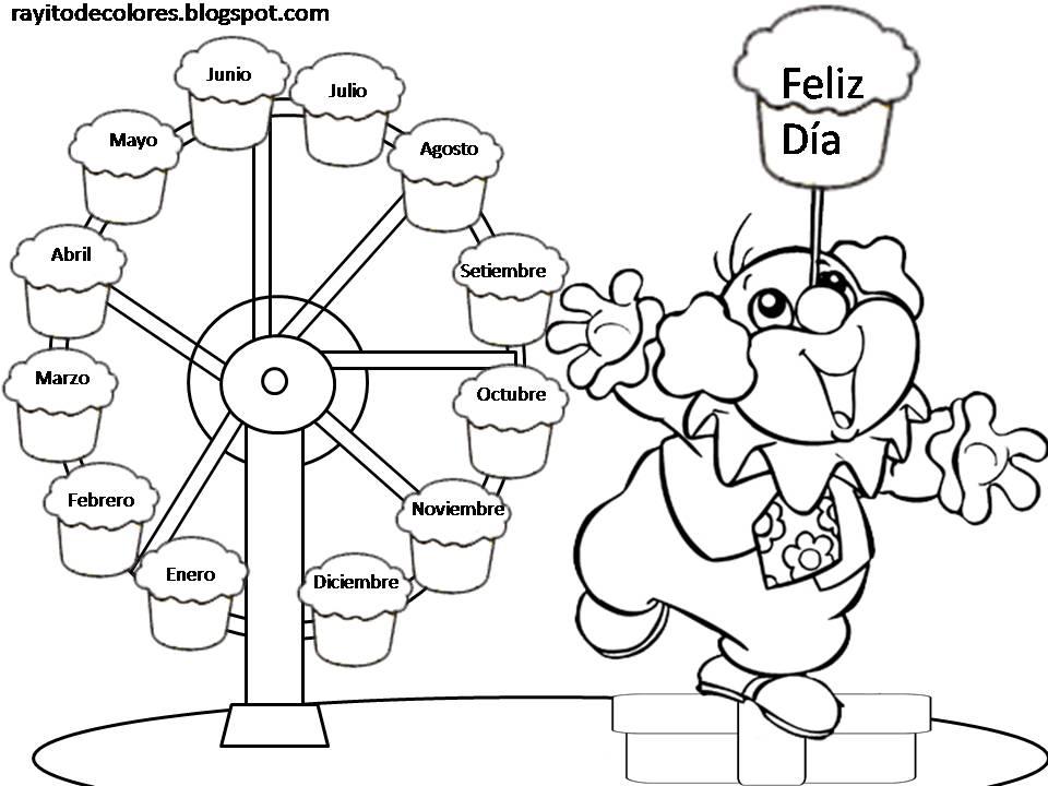 Excepcional Cumpleaños Para Colorear Papi Bosquejo - Dibujos Para ...