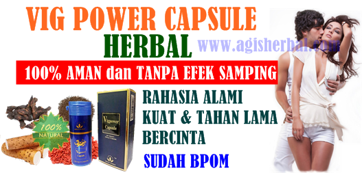 Efek Samping Vig Power Capsule